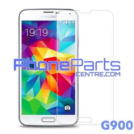 G900 Tempered glass premium kwaliteit - winkelverpakking voor Galaxy S5 (2014) - G900 (10 stuks)