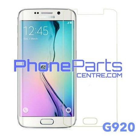 G920 Tempered glass premium kwaliteit - winkelverpakking voor Galaxy S6 (2015) - G920 (10 stuks)