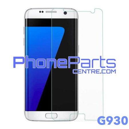 G930 Tempered glass premium kwaliteit - winkelverpakking voor Galaxy S7 (2016) - G930 (10 stuks)