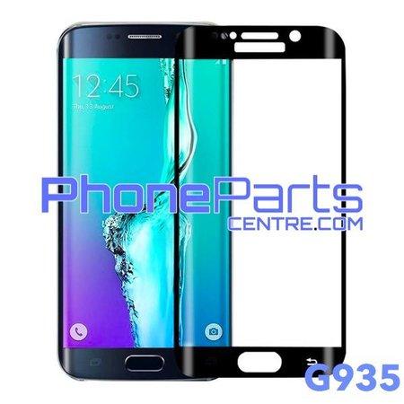 G935 Gebogen tempered glass - zonder verpakking voor Galaxy S7 Edge - G935 (25 stuks)