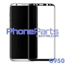 G950 Gebogen tempered glass - zonder verpakking voor Galaxy S8 - G950 (25 stuks)