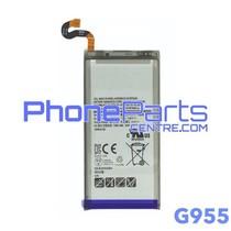 G955 Batterij voor Galaxy S8 Plus - G955 (4 stuks)