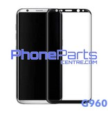 G960 Gebogen tempered glass - zonder verpakking voor Galaxy S9 - G960 (25 stuks)