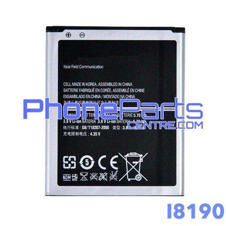 I8190 Batterij premium quality voor Galaxy S3 mini - I8190 (4 stuks)