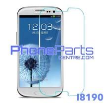 I8190 Tempered glass - winkelverpakking voor Galaxy S3 mini - I8190 (10 stuks)
