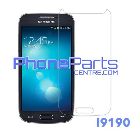 I9190 Tempered glass - no packing for Galaxy S4 mini - I9190 (50 pcs)