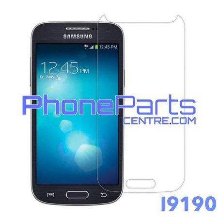 I9190 Tempered glass - winkelverpakking voor Galaxy S4 mini - I9190 (10 stuks)