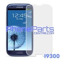 I9300 Tempered glass - winkelverpakking voor Galaxy S3 - I9300 (10 stuks)