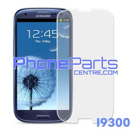 I9300 Tempered glass premium quality - no packing for Galaxy S3 (2012) - I9300 (50 pcs)