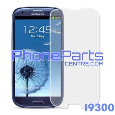 I9300 Tempered glass premium kwaliteit - winkelverpakking voor Galaxy S3 (2012) - I9300 (10 stuks)