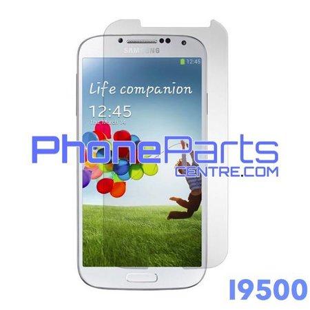I9500 Tempered glass premium kwaliteit - winkelverpakking voor Galaxy S4 (2013) - I9500 (10 stuks)