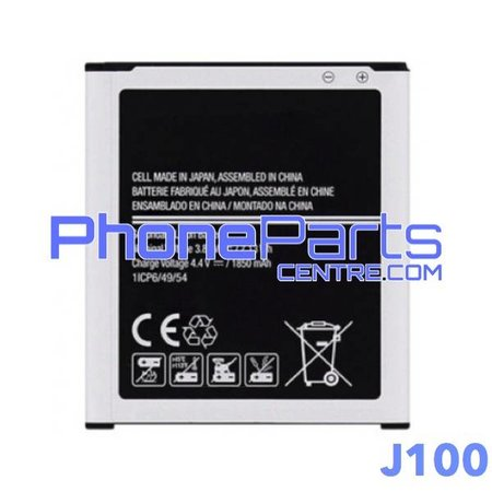 J100 Batterij premium quality voor Galaxy J1 (2015) - J100 (4 stuks)