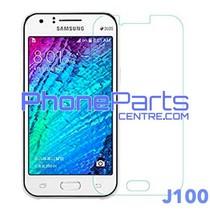 J100 Tempered glass premium kwaliteit - zonder verpakking voor Galaxy J1 (2015) - J100 (50 stuks)