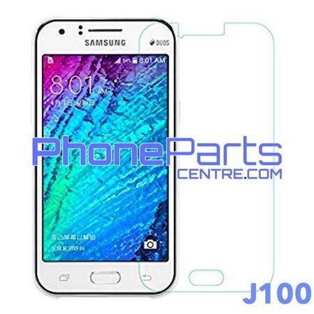 J100 Tempered glass premium kwaliteit - winkelverpakking voor Galaxy J1 (2015) - J100 (10 stuks)