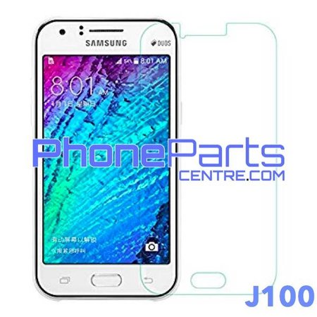 J100 Tempered glass premium quality - retail packing for Galaxy J1 (2015) - J100 (10 pcs)
