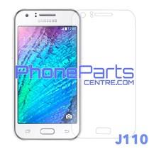 J110 Tempered glass premium kwaliteit - zonder verpakking voor Galaxy J1 Ace (2016) - J110 (50 stuks)