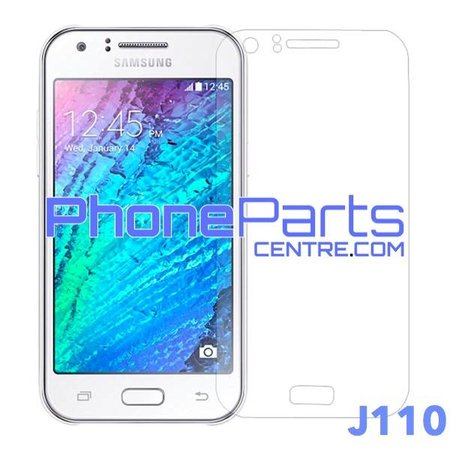 J110 Tempered glass premium quality - retail packing for Galaxy J1 Ace (2016) - J110 (10 pcs)