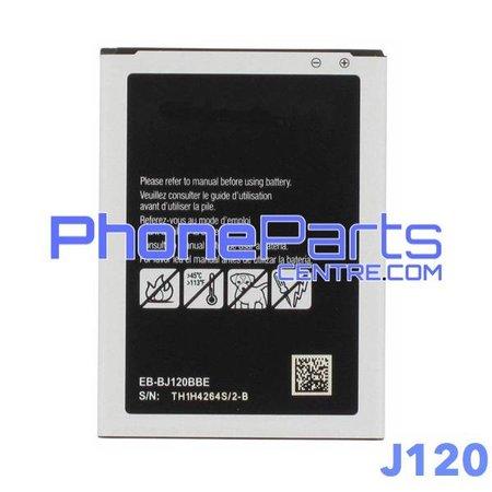 J120 Batterij premium quality voor Galaxy J1 (2016) - J120 (4 stuks)