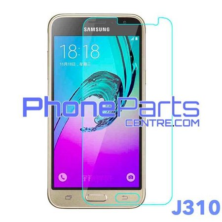 J310 Tempered glass - no packing for Galaxy J3 (2015) - J310 (50 pcs)