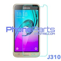 J310 Tempered glass premium quality - retail packing for Galaxy J3 (2015) - J310 (10 pcs)