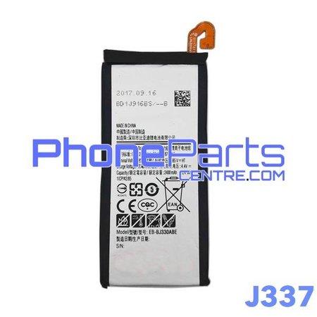 J337 Batterij premium quality voor Galaxy J3 (2018) - J337 (4 stuks)