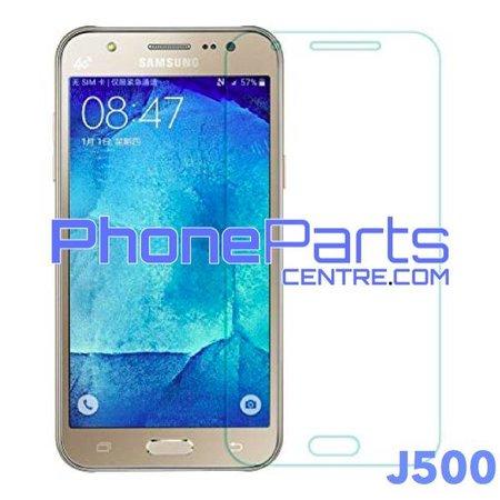 J500 Tempered glass premium quality - no packing for Galaxy J5 (2015) - J500 (50 pcs)