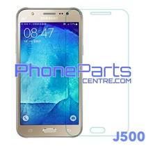 J500 Tempered glass premium kwaliteit - winkelverpakking voor Galaxy J5 (2015) - J500 (10 stuks)