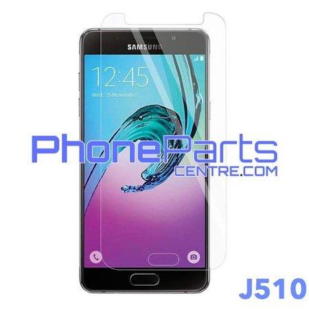 J510 Tempered glass premium quality - no packing for Galaxy J5 (2016) - J510 (50 pcs)