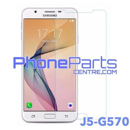 G570 Tempered glass premium kwaliteit - winkelverpakking voor Galaxy J5 Prime (2016) - G570 (10 stuks)