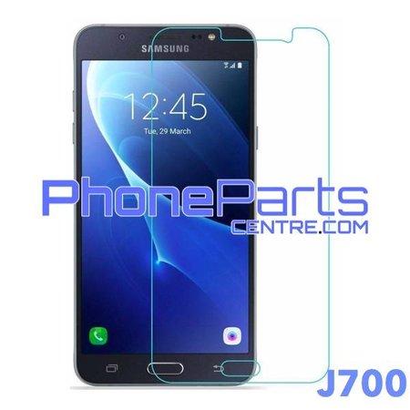 J700 Tempered glass premium quality - retail packing for Galaxy J7 (2015) - J700 (10 pcs)