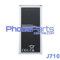 J710 Batterij premium quality voor Galaxy J7 (2016) - J710 (4 stuks)