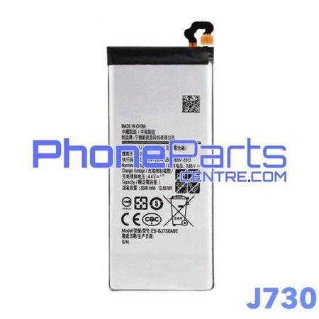 J730 Battery premium quality for Galaxy J7 Pro (2017) - J730 (4 pcs)