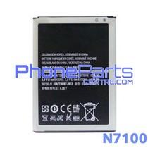 N7100 Batterij premium quality voor Galaxy Note 2 - N7100 (4 stuks)