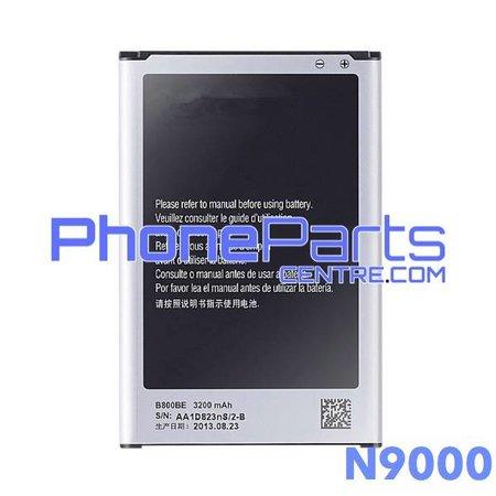 N9000 Batterij premium quality voor Galaxy Note 3 - N9000 (4 stuks)