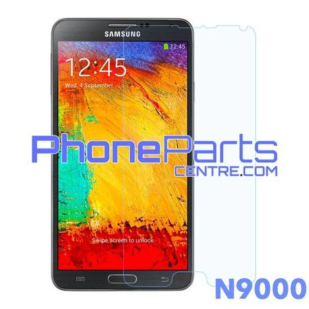N9000 Tempered glass - no packing for Galaxy Note 3 - N9000 (50 pcs)