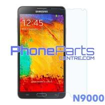 N9000 Tempered glass - winkelverpakking voor Galaxy Note 3 - N9000 (10 stuks)