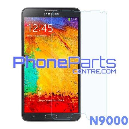 N9000 Tempered glass premium kwaliteit - zonder verpakking voor Galaxy Note 3 (2013) - N9000 (50 stuks)
