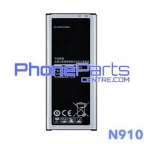 N910 Batterij premium quality voor Galaxy Note 4 - N910 (4 stuks)