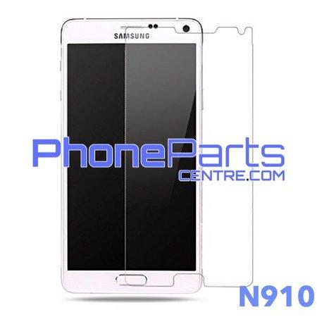 N910 Tempered glass premium kwaliteit - zonder verpakking voor Galaxy Note 4 (2014) - N910 (50 stuks)
