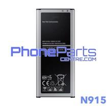 N915 Batterij voor Galaxy Note Edge - N915 (4 stuks)
