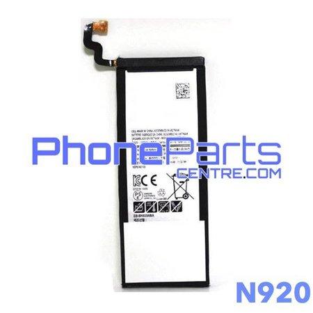 N920 Batterij voor Galaxy Note 5 - N920 (4 stuks)