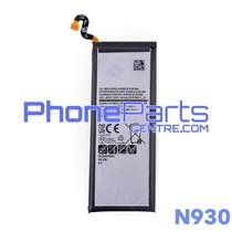 N930 Batterij voor Galaxy Note 7 - N930 (4 stuks)