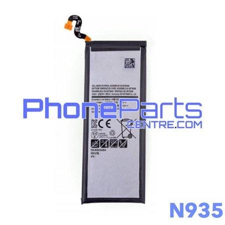 N935 Batterij voor Galaxy Note FE - N935 (4 stuks)