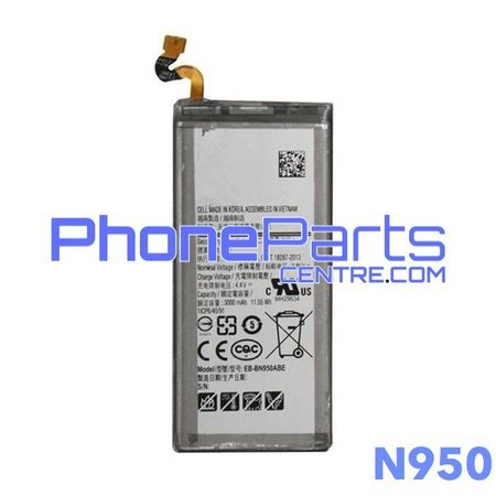 N950 Battery for Galaxy Note 8 - N950 (4 pcs)