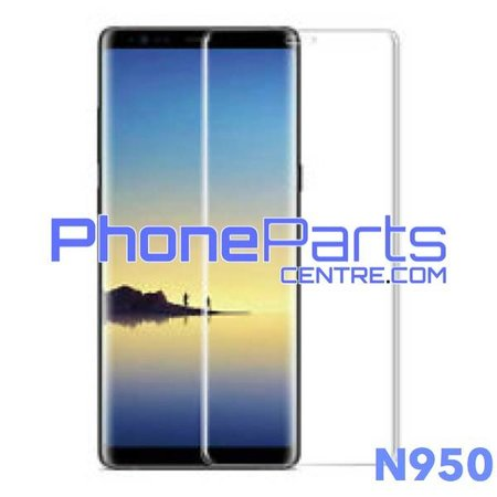 N950 Gebogen tempered glass - zonder verpakking voor Galaxy Note 8 - N950 (25 stuks)