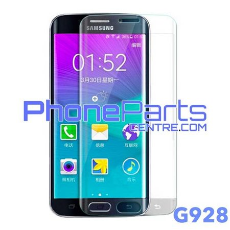G928 Curved tempered glass - no packing for Galaxy S6 Edge Plus - G928 (25 pcs)