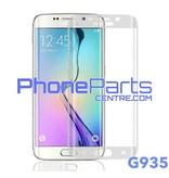 G935 Gebogen tempered glass - winkelverpakking voor Galaxy S7 Edge - G935 (10 stuks)
