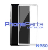 N950 Curved tempered glass - no packing for Galaxy Note 8 - N950 (25 pcs)