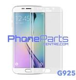 G925 Gebogen tempered glass - winkelverpakking voor Galaxy S6 Edge - G925 (10 stuks)