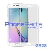 G928 Gebogen tempered glass - winkelverpakking voor Galaxy S6 Edge Plus - G928 (10 stuks)
